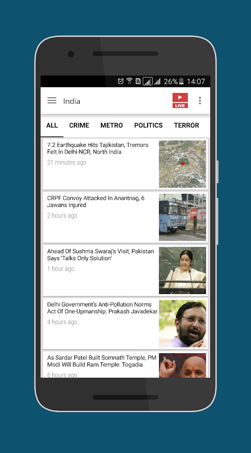 News World India- screenshot