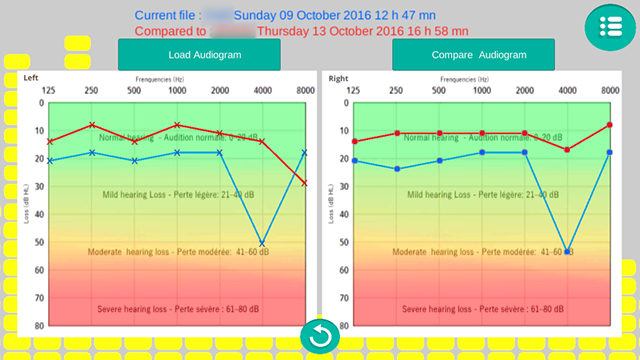 AUDIOGRAM PRO- screenshot