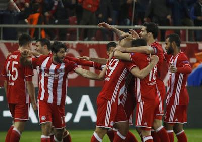 Un match de l'Olympiakos en Coupe a été interrompu par des violences