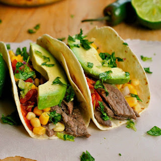 Steak Tacos With Corn Salsa