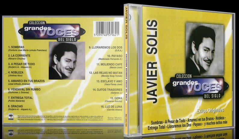 Javier Solís - Colección Grandes Voces Del Siglo (1999) [MP3 @320 Kbps]