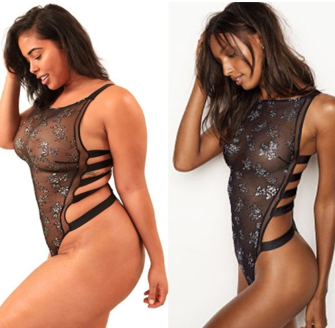 50301a2a9fe14 Curvy girls can sell lingerie too: plus-size model recreates Victoria's  Secret ads
