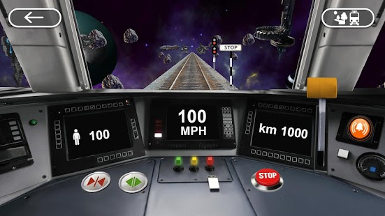 [Train Driving 3D Simulator] Screenshot 5