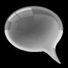 GoSMS Pro Theme Gunmetal Glass icon