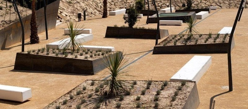 Parque Las Cañadas - Rafael Landete, Angel González, M. Isabel Pérez, Emilio Cortés
