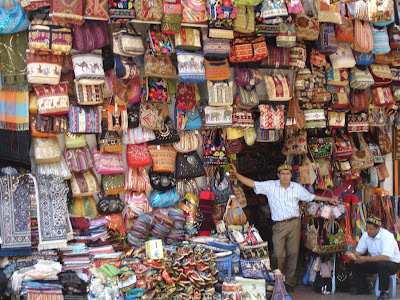 Grand Bazaar Market - Picture of a bag stall