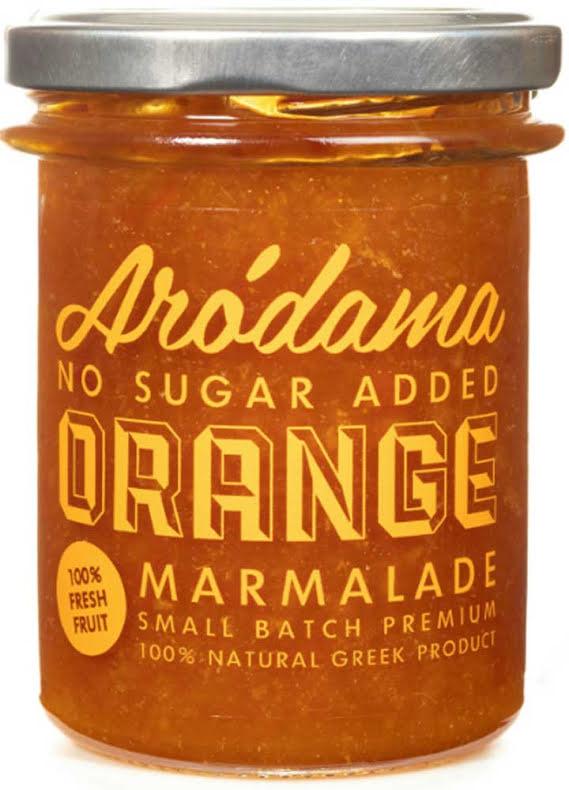 Apelsinmarmelad med äpple citronverbena - Aródama