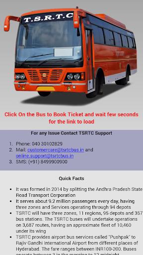 TSRTC Online Ticket Booking