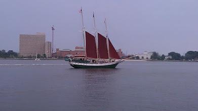 Photo: Three mast excursion sailing vessel.