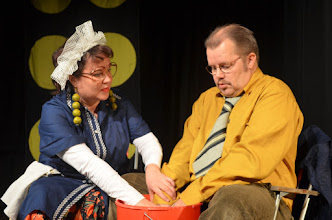 Photo: Sirpa Risto ja Jorma Styng. Kuva: Mirka Pohjanrinne.