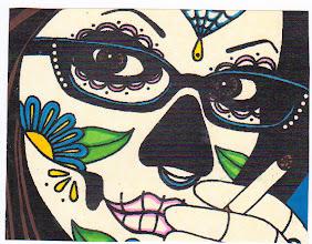 Photo: Wenchkin's Mail Art 366 - Day 227 - Card 227a