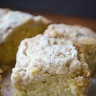 Cardamom Crumb Cake.