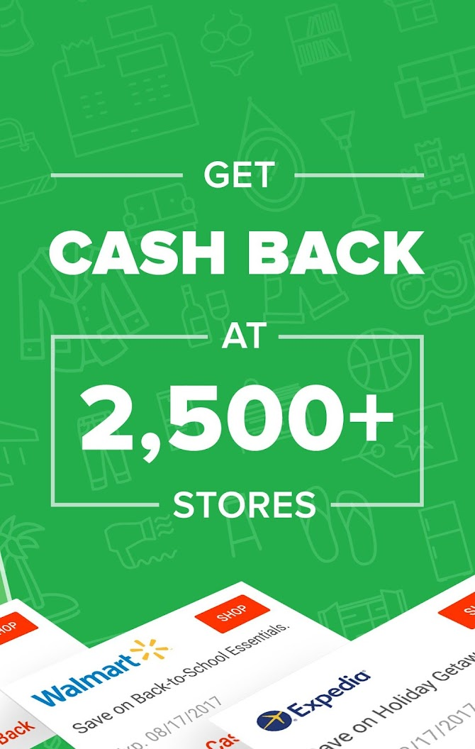 Ebates: Cash Back Rewards, Coupons & Promo Codes Android 7