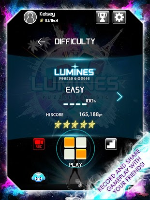 LUMINES PUZZLE AND MUSIC- screenshot thumbnail