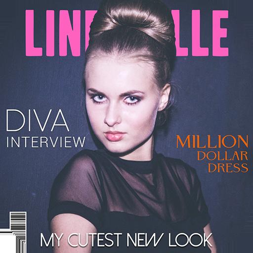 Magazine Photo Booth Icon