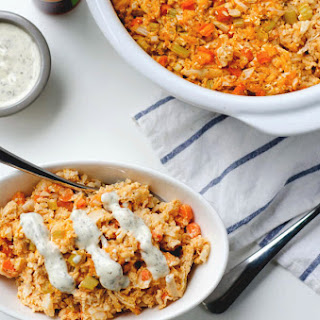 Paleo Buffalo Chicken Casserole Recipe