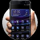 Purple Waves - Launcher Theme icon