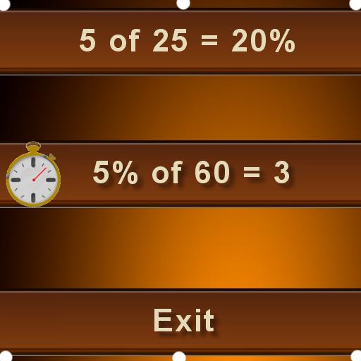 percentage math fun