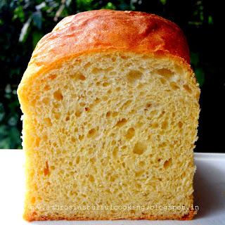 Yeasted Cornmeal Bread.