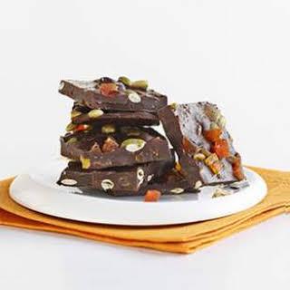 Papaya & Chile Chocolate Bark.
