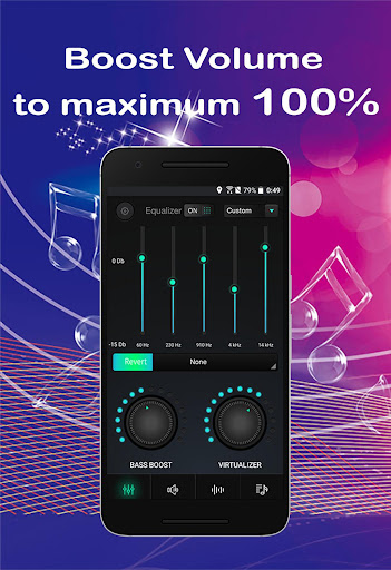 Equalizer Sound Booster Volume Booster for Android 4.7.9 screenshots 1