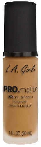 Bases La Girl Pro Matte 678 Sand