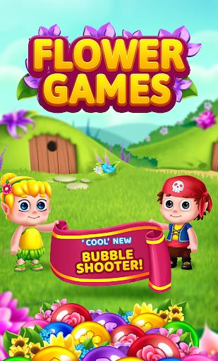 Flower Games - Bubble Shooter 3.7 screenshots 1
