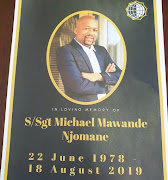 Michael Mawande Njomane's body was found in the boot of a burnt-out vehicle in Blue Downs last week.