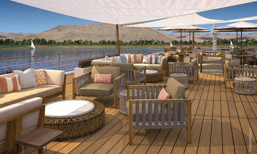 Take in the history of passing landscapes during your Nile River cruise on Viking Ra.