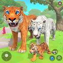 Tiger Family Simulator: Jungle Hunting Games icon