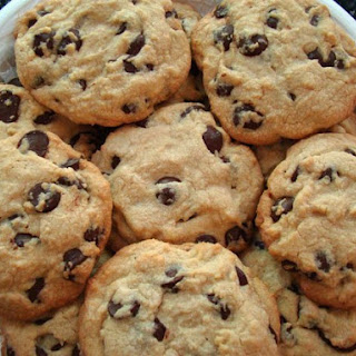 Big Soft Chewy Chocolate Chip Cookies.
