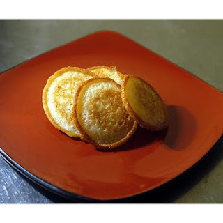 Fried Corn Bread Cakes.