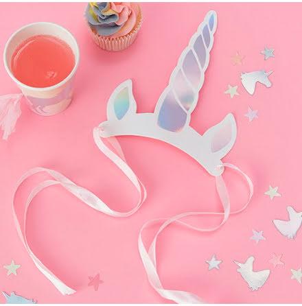 Hårband enhörningshorn - Make a wish unicorn