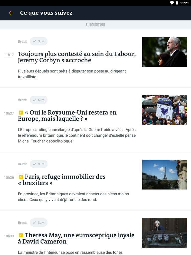 Le Monde, l'info en continu screenshot #13