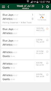 Baseball Schedule Athletics: Live Scores & Stats - náhled