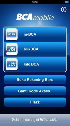 BCA mobile screenshot 1