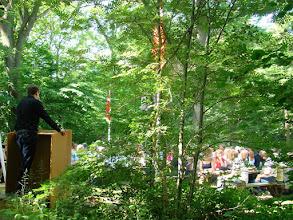 Photo: Nicolai Wammen taler til de 160 deltagere