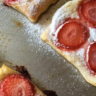 Strawberry Cream Cheese Tarts.