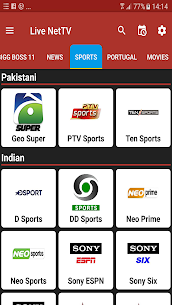 Live Net TV All Channels Free Online Guide 2