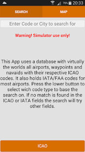 AVIATE DB Lookup- screenshot thumbnail