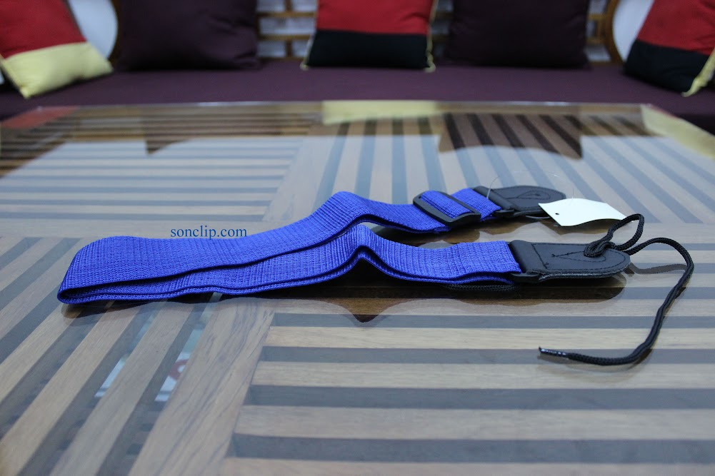 Dây Đeo Guitar - Playtech Nylon Strap Blue