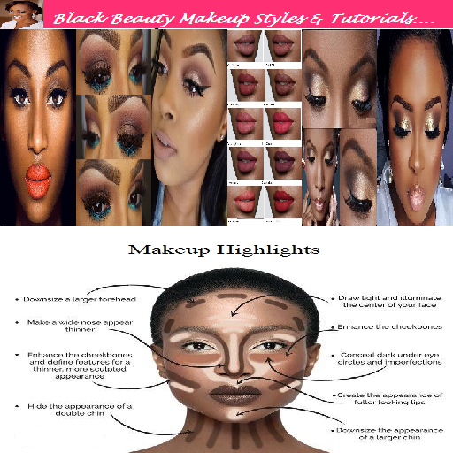 Black Beauty Makeup Tutorials
