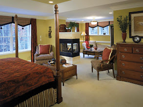 Photo: The master bedroom in our RICHMOND HILL model home at Countryman Estates.
