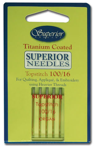 Superior Threads Titanium Nålar 100/16 (16121)