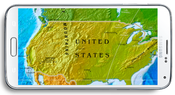 World map 3d android apps on google play world map 3d screenshot thumbnail gumiabroncs Gallery