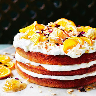 Orange And Honey Blossom Cake.