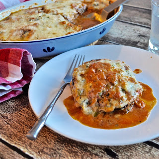 Eggplant Gratin with Herbs and Creme Fraiche Recipe