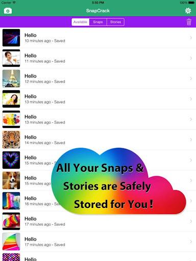 Snapcrack screenshot 1
