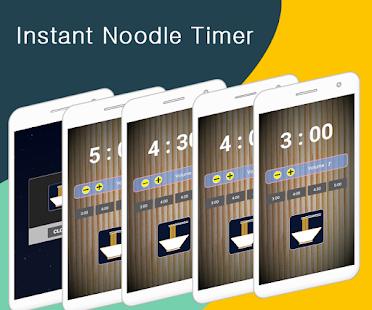 Noodle (Instant Noodle Timer) for PC-Windows 7,8,10 and Mac apk screenshot 1