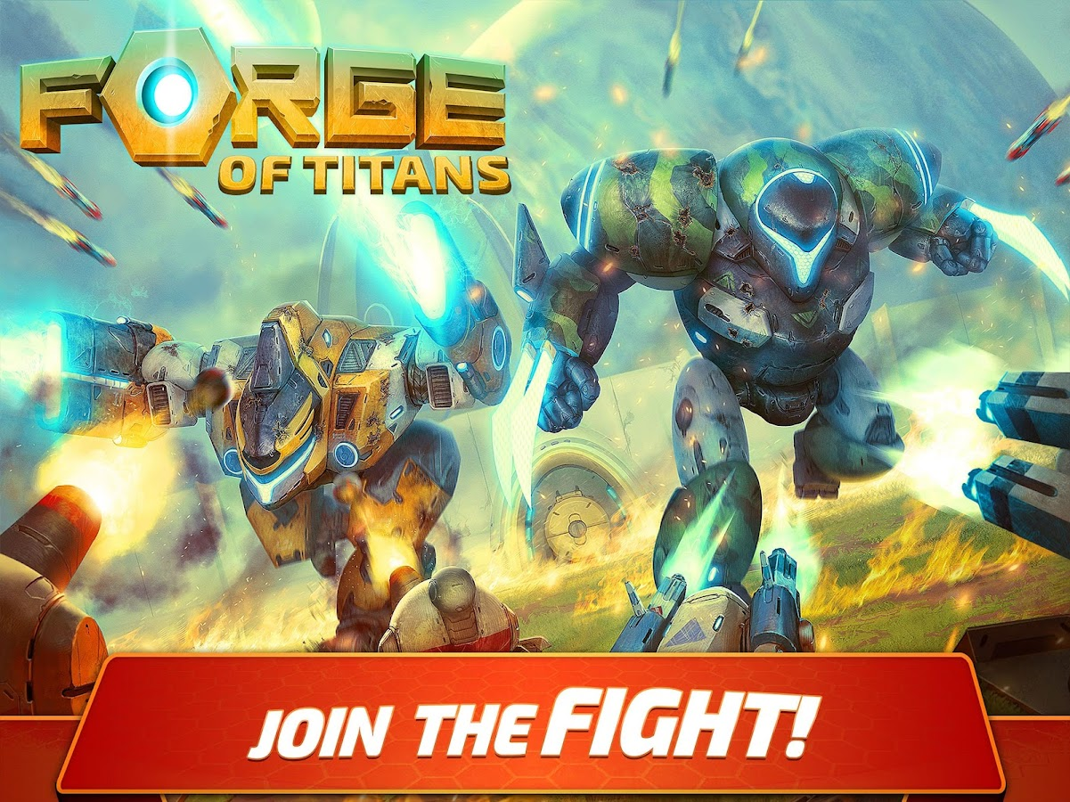 Forge of Titans: Mech Wars- screenshot